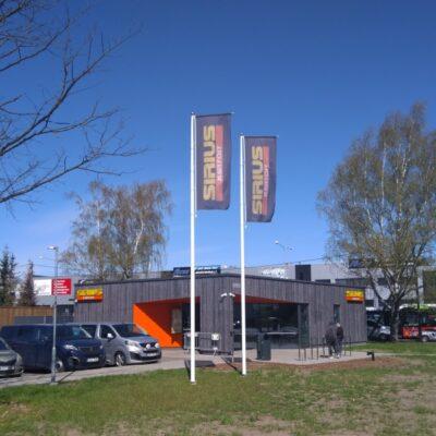 Statsionaarne Banner bar